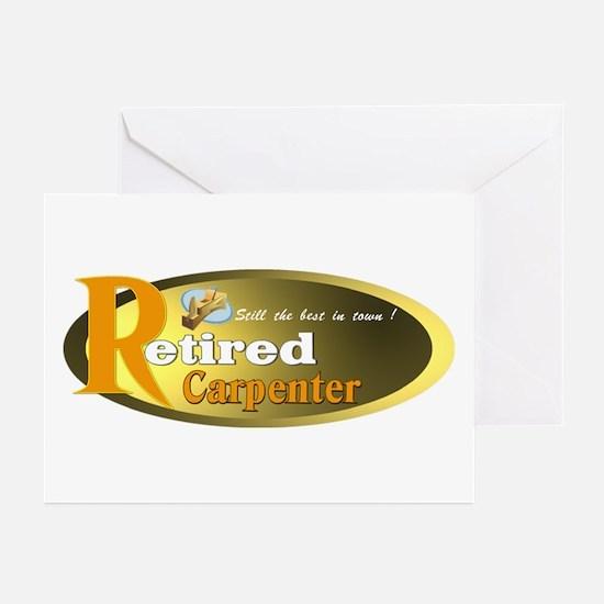 'Retired Carpenter.:-) Greeting Cards (Pk of 10)