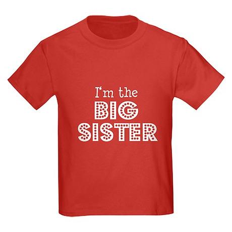 I'm the Big Sister Kids red T-Shirt