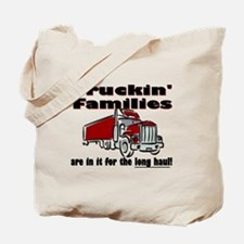Truckin' Families Tote Bag