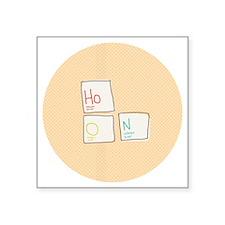 "Hoon Elements Square Sticker 3"" x 3"""