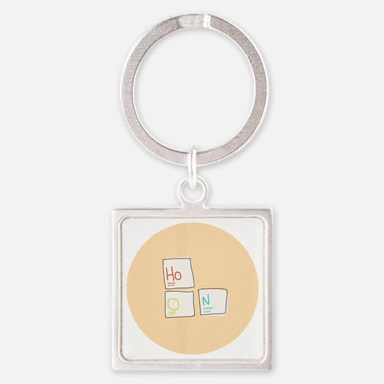 Hoon Elements Square Keychain