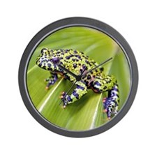 Spotted toad Wall Clock