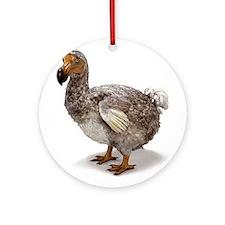 Dodo Statue Ornament (Round)