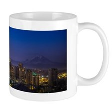 Image of Seattle Skyline in morning hou Mug