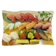 Different Types of Sushi Pillow Case
