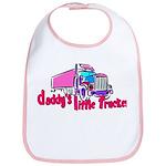 Daddy's Little Trucker Bib