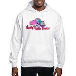 Daddy's Little Trucker Hooded Sweatshirt