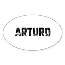 Arturo Oval Decal