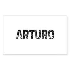 Arturo Rectangle Decal