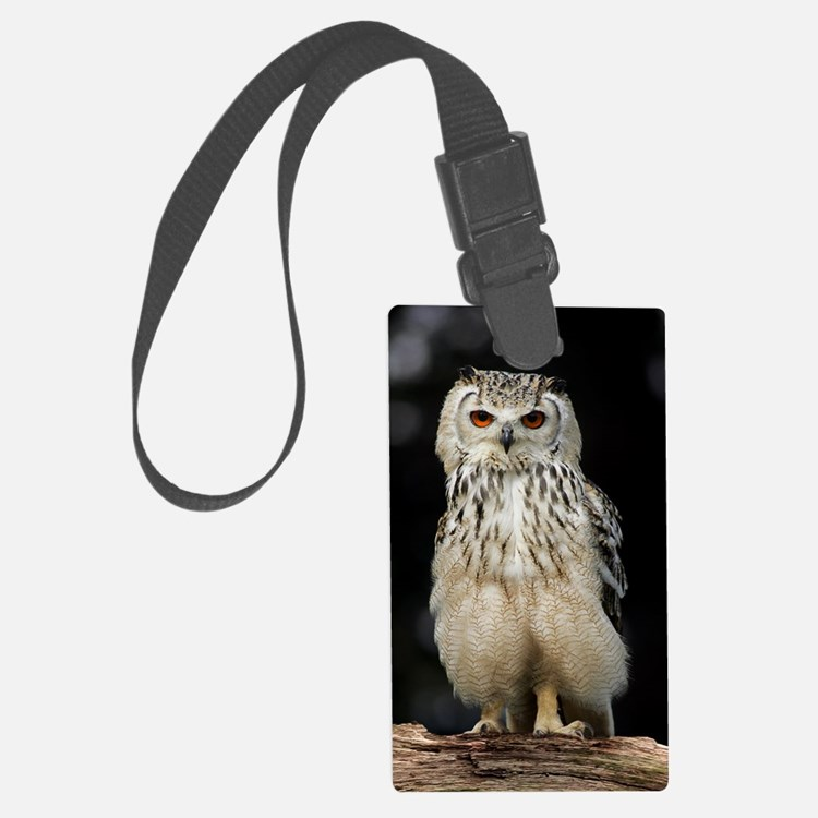 Bengalese eagle owl Luggage Tag
