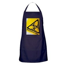 Biohazard symbol Apron (dark)