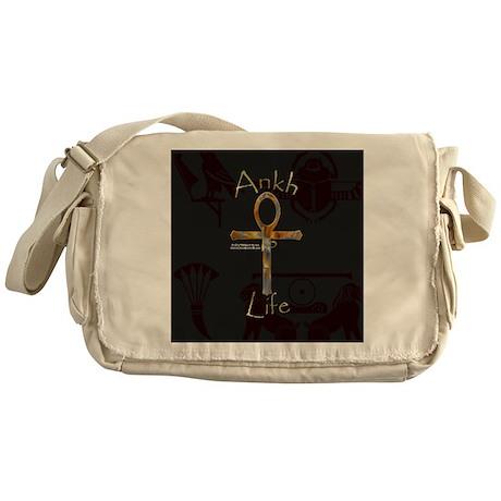 Ankh is Life Messenger Bag