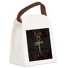 Ankh is Life Canvas Lunch Bag