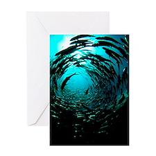 Bigeye trevally Greeting Card