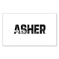 Asher Rectangle Decal