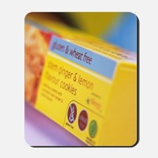 Biscuit packaging Mousepad