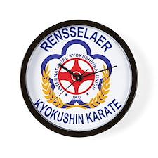 Rensselaer Kyokushin Wall Clock