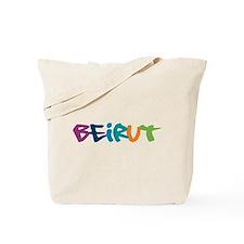 Beirut Graffiti Tote Bag