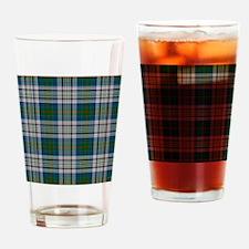 Kennedy Dress Tartan Plaid Drinking Glass