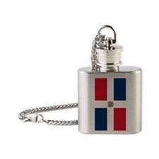 Dominican Republic iPhone 5 Case Flask Necklace