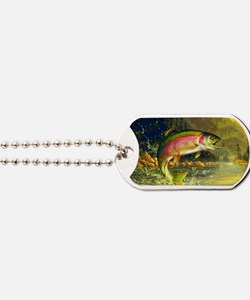 Trout 8x4 Dog Tags