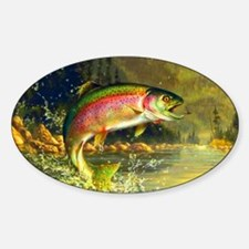 Trout 8x4 Decal