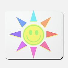 Sun Smiley Mousepad