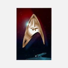 Enterprise Star Trek Case Rectangle Magnet