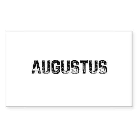 Augustus Rectangle Sticker