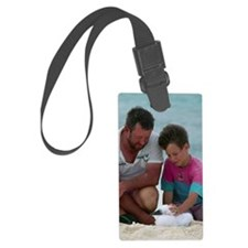 Booby chick Luggage Tag
