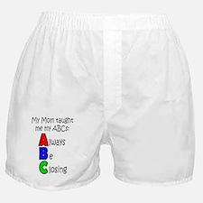 Always Be Closing - Mom Boxer Shorts