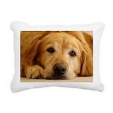 Golden retrievers Rectangle Canvas Pillows