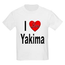 I Love Yakima (Front) T-Shirt