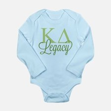 Kappa Delta Legacy Long Sleeve Infant Bodysuit