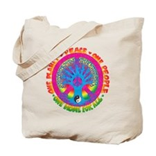 One Planet One People Tote Bag
