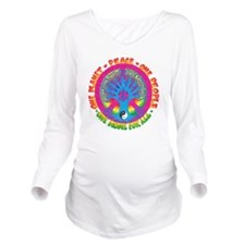 One Planet One Peopl Long Sleeve Maternity T-Shirt