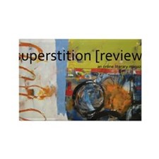 Superstition Review Rectangle Magnet