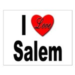 I Love Salem Small Poster