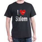 I Love Salem (Front) Dark T-Shirt