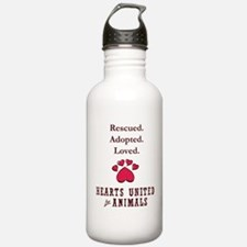 dog shirt Water Bottle