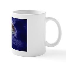 STICKER-OVAL - Moon Wolf Mug