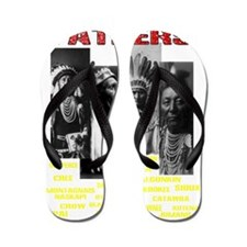 Native American, First Nations Founding Flip Flops