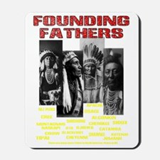 Native American, First Nations Founding  Mousepad