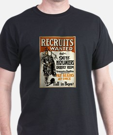 Recruits Wanted Fall In Boys - anonymous - circa 1