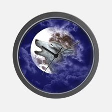 ERGANOMIC_MOUSEPAD_MOON WOLF Wall Clock