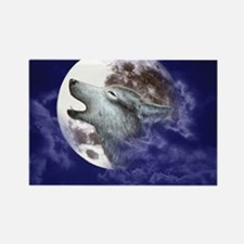 ERGANOMIC_MOUSEPAD_MOON WOLF Rectangle Magnet