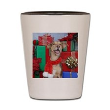 Dog Holiday Ornament Shot Glass