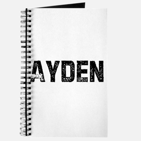 Ayden Journal