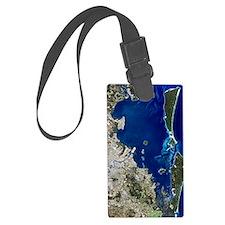 Brisbane, Australia, satellite i Luggage Tag