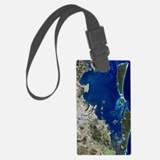 Brisbane, Australia, satellite i Luggage Tag